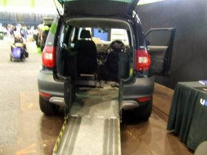 U Drive Skoda Yeti converted to be wheelchair accessible